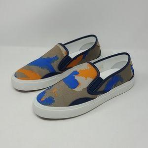 Valentino Unisex Camo Printed Slip On Sneakers